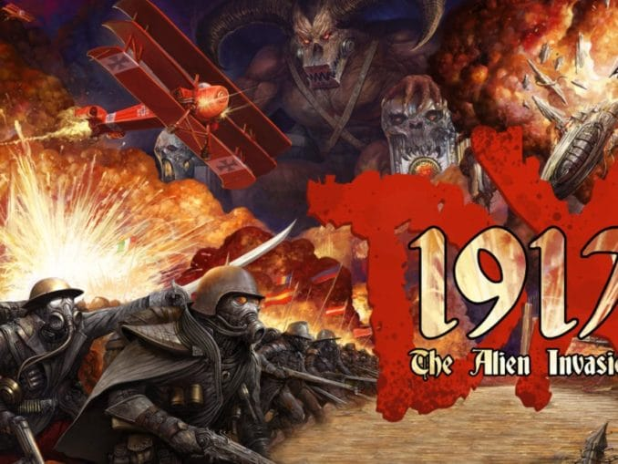Release - 1917 – The Alien Invasion DX