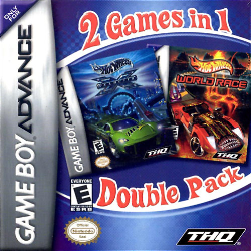 2 Games In 1 Double Pack – Hot Wheels: World Race / Velocity X