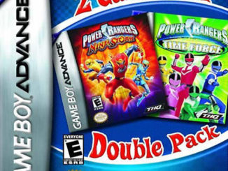 2 Games In 1 Double Pack: Power Rangers: Time Force / Power Rangers: Ninja Storm
