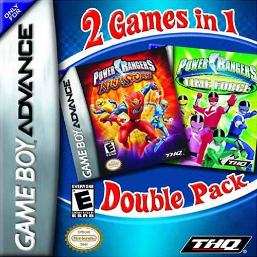 Release - 2 Games In 1 Double Pack: Power Rangers: Time Force / Power Rangers: Ninja Storm