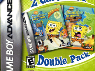 2 Games In 1 Double Pack – SpongeBob SquarePants: SuperSponge / SpongeBob SquarePants: Revenge of the Flying Dutchman