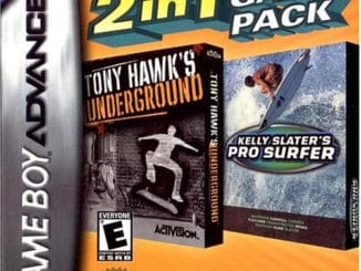 2 In 1 Game Pack: Tony Hawk's Underground / Kelly Slater's Pro Surfer