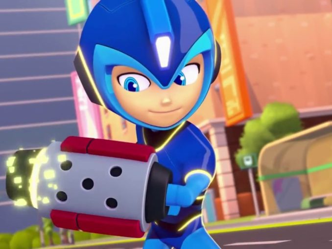 Nieuws - Mega Man – Fully Charged Comic-Con Trailer