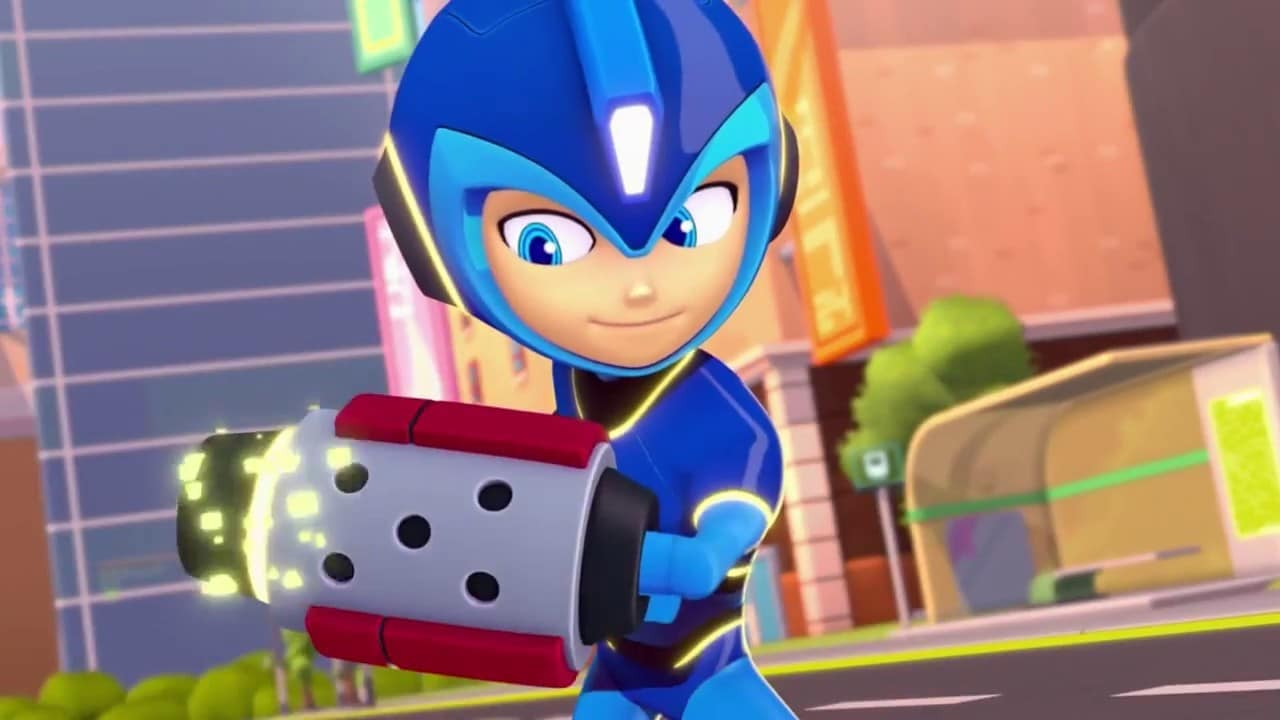 Mega Man – Fully Charged Comic-Con Trailer
