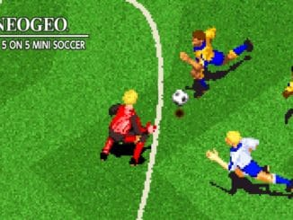 Release - ACA NEOGEO PLEASURE GOAL: 5 ON 5 MINI SOCCER