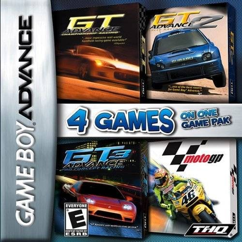 Release - 4 Games on One Game Pak: GT Advance / GT Advance 2 / GT Advance 3 / MotoGP