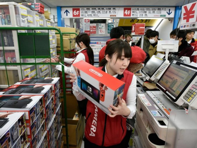 News - 80% Gaming hardware market in Japan, Sold more Switches this year