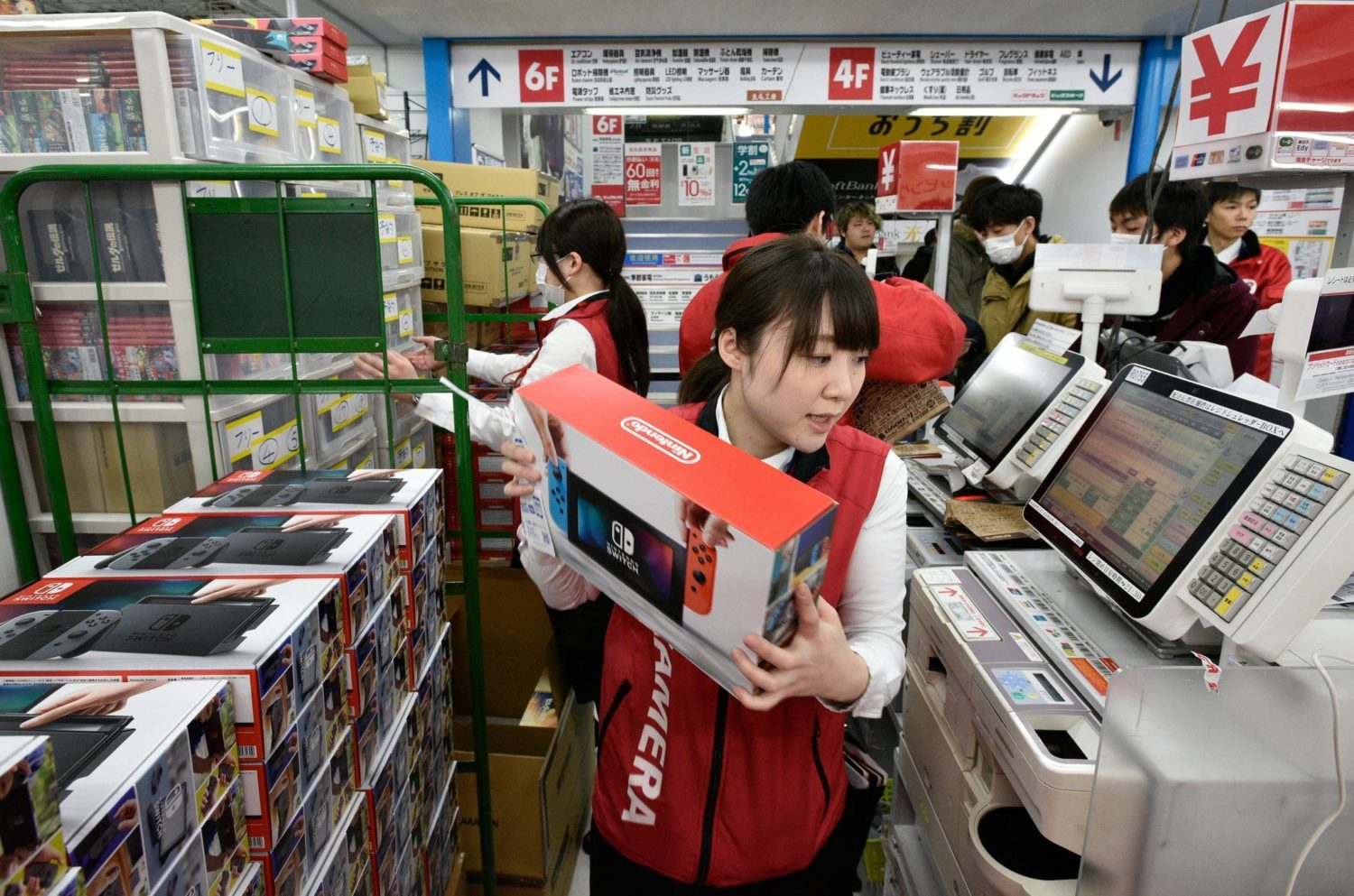 80% Gaming-hardwaremarkt in Japan, dit jaar meer Switches verkocht