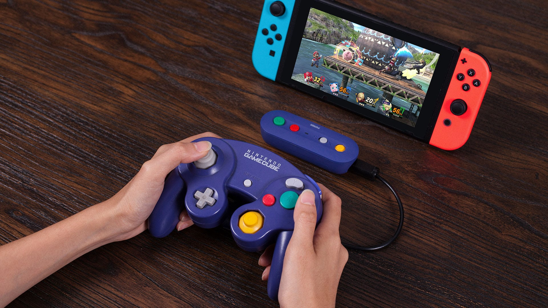8BitDo gaat een Wireless GameCube Controller Adapter releasen