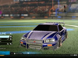 rocket league -skyline