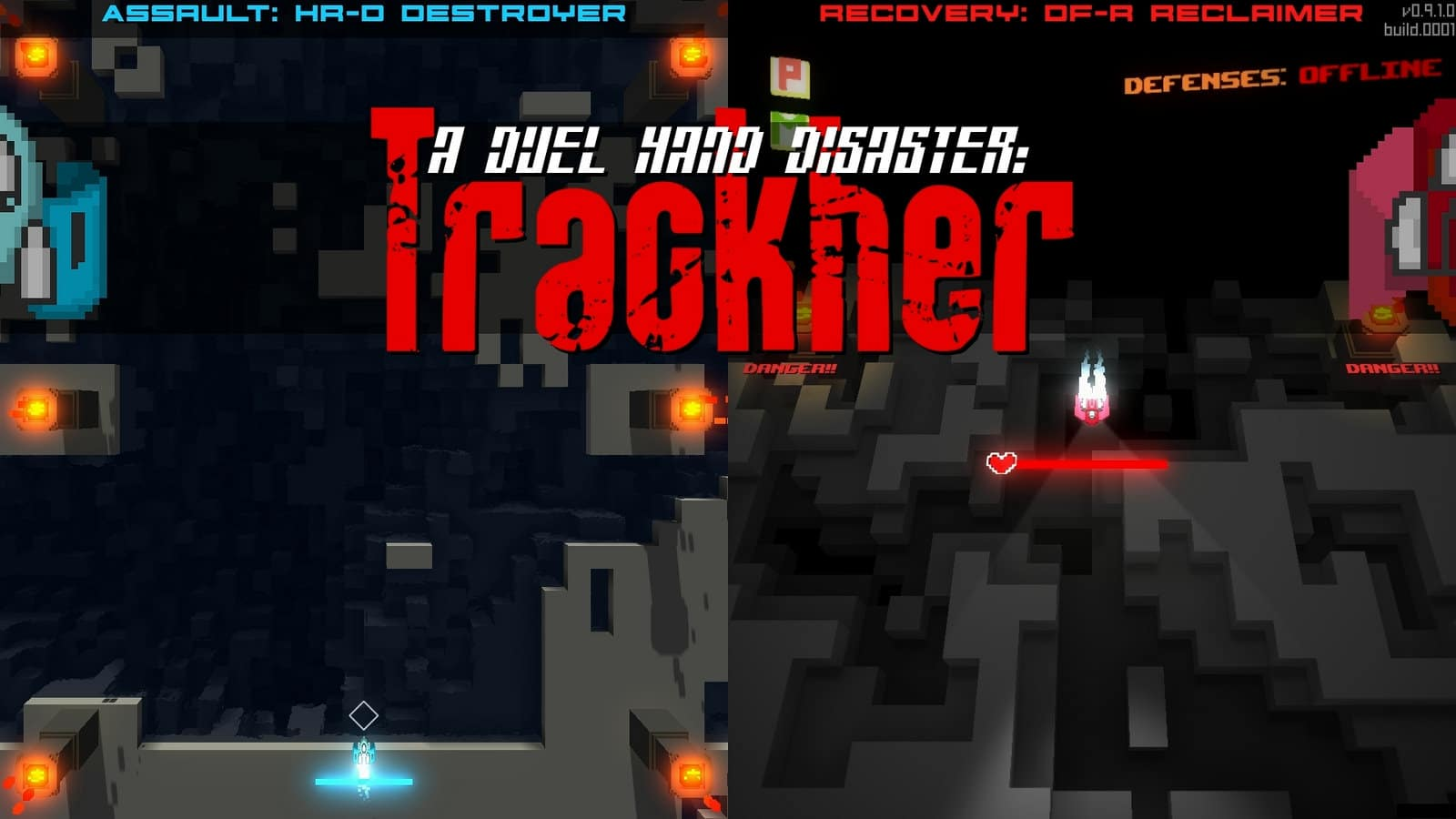 A Duel Hand Disaster: Trackher footage