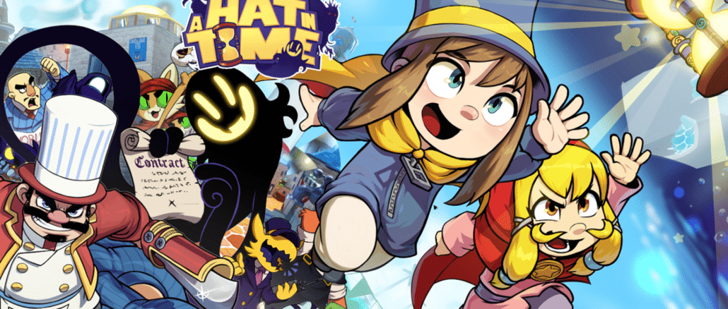 A Hat In Time en Slay The Spire fysieke releases vermeld op Amazon