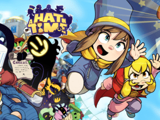 A Hat In Time and Slay The Spire physical releases listed on Amazon