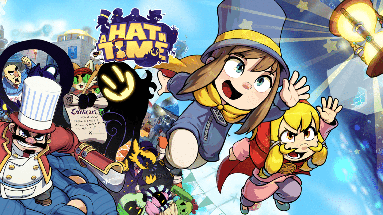 A Hat In Time – 4 x groter …