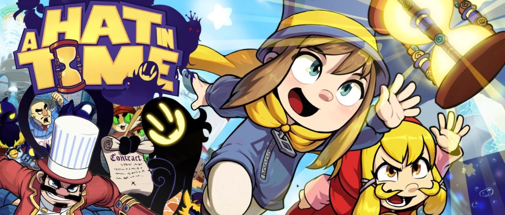A Hat In Time komt toch!