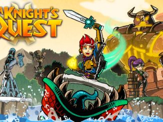 A Knight's Quest announced