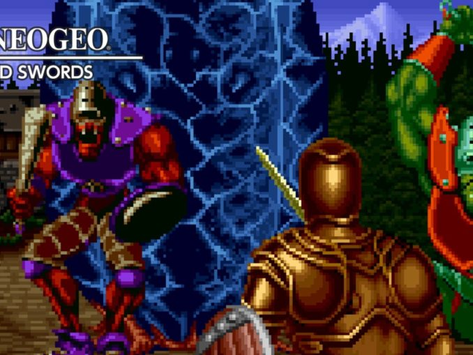 Release - ACA NEOGEO CROSSED SWORDS