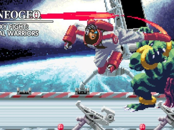 Release - ACA NEOGEO GALAXY FIGHT: UNIVERSAL WARRIORS