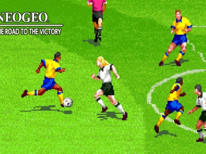Release - ACA NEOGEO NEO GEO CUP '98: THE ROAD TO THE VICTORY