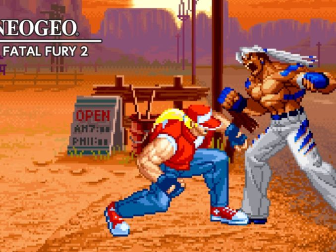 Release - ACA NEOGEO REAL BOUT FATAL FURY 2