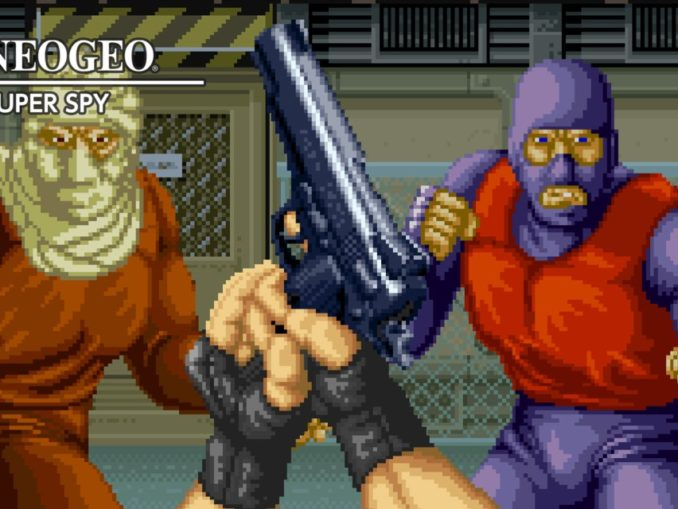 Release - ACA NEOGEO THE SUPER SPY