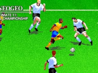 ACA NEOGEO THE ULTIMATE 11: SNK FOOTBALL CHAMPIONSHIP