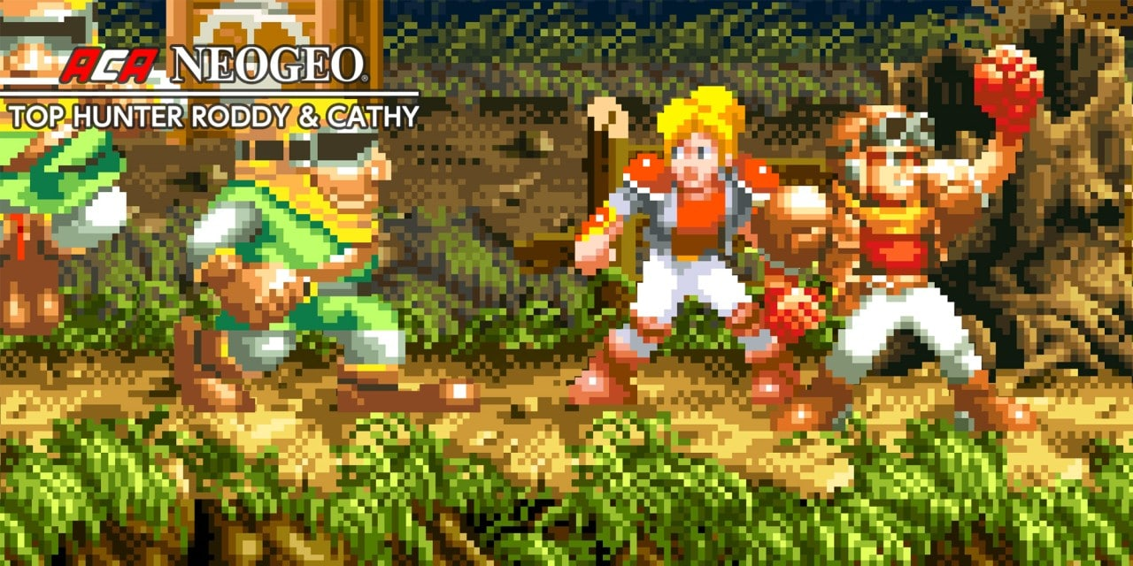 ACA NEOGEO TOP HUNTER RODDY & CATHY
