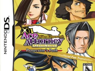 Release - Ace Attorney Investigations: Miles Edgeworth – Prosecutor's Path
