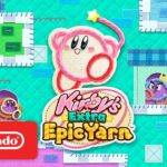 Adorable Kirby's Extra Epic Yarn Launch Trailer