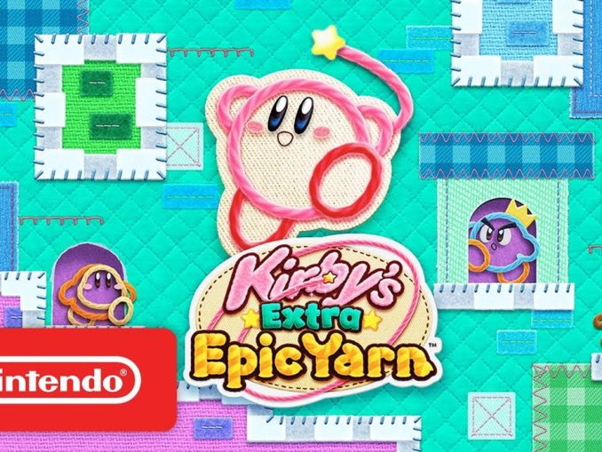 Nieuws - Schattige Kirby's Extra Epic Yarn Launch Trailer