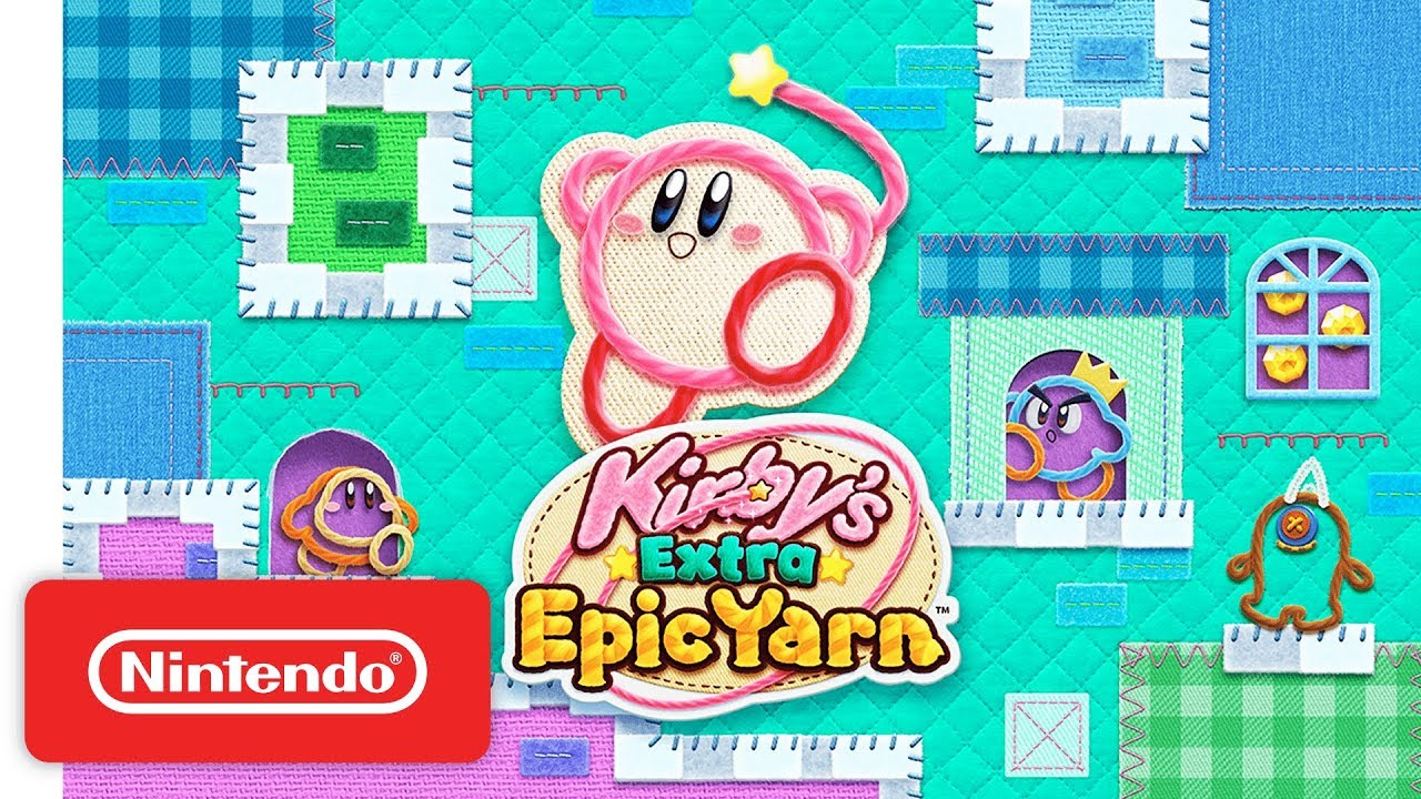 Schattige Kirby's Extra Epic Yarn Launch Trailer