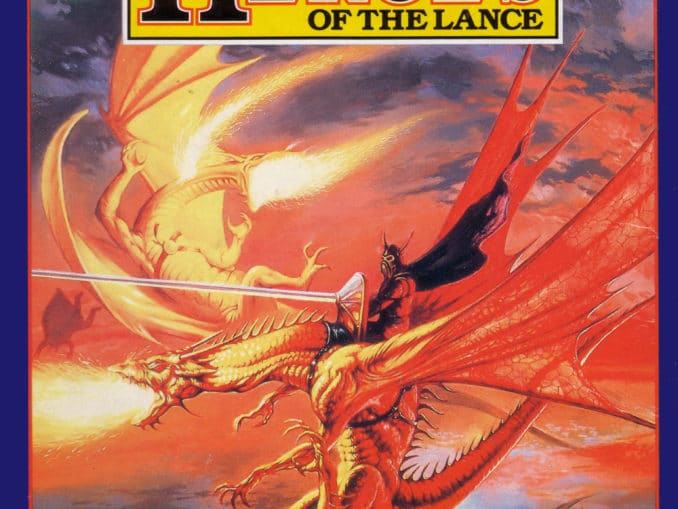Release - Advanced Dungeons & Dragons: Heroes of the Lance