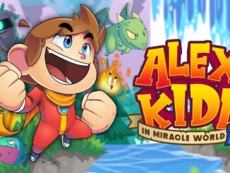 Alex Kidd In Miracle World DX komt Q1 2021