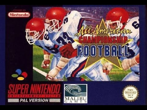 Release - All-American Championship Football