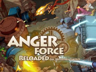 Release - AngerForce: Reloaded for Nintendo Switch