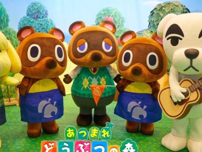 Nieuws - Animal Crossing: New Horizons Booth Video Tour