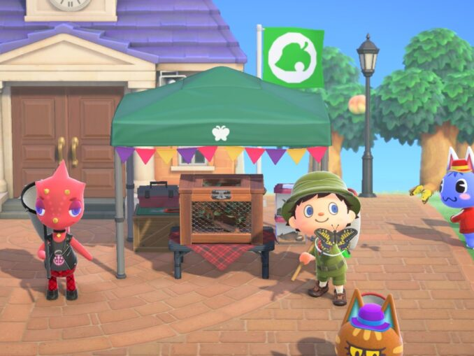 Nieuws - Animal Crossing: New Horizons – Bug-Off