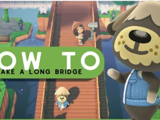 Animal Crossing New Horizons – Bouw een lange brug
