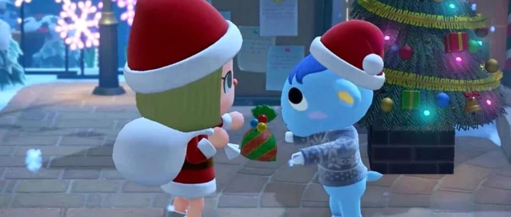Animal Crossing: New Horizons – Christmas Toy Day Set Items beschikbaar