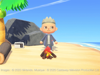 Animal Crossing New Horizons – Denis Brogniart reclame