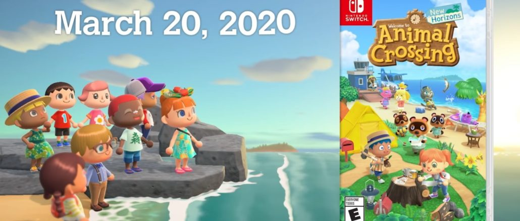 Animal Crossing: New Horizons – Engelse tv-reclame + Boxart onthuld