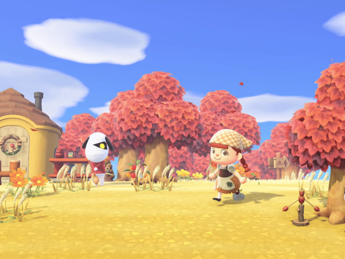 Nieuws - Animal Crossing: New Horizons – Herfst reclame Japan