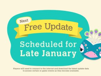 Animal Crossing: New Horizons – January Free Update Announced