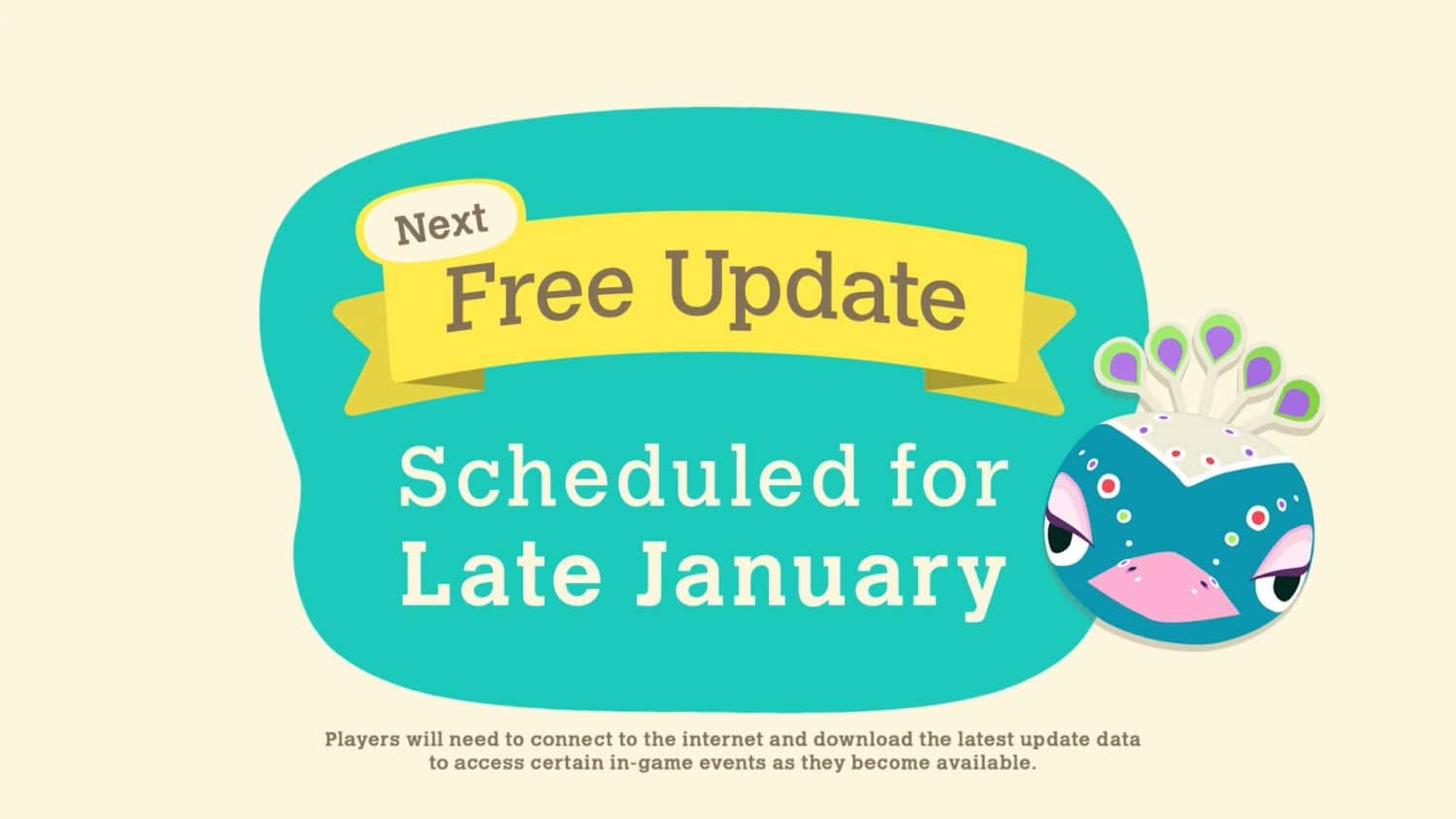 Animal Crossing: New Horizons – January gratis update aangekondigd