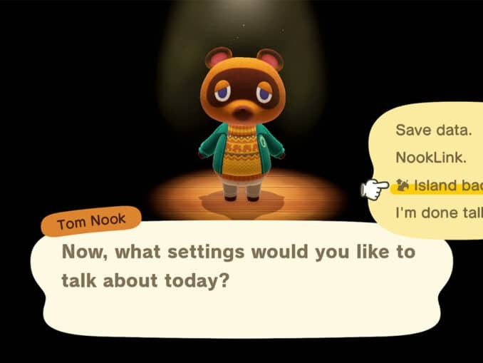 Animal Crossing: New Horizons – Save Data Backup Feature in detail