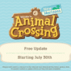 Animal Crossing: New Horizons - Summer Update Wave 2 - Dream Islands and Backup Service