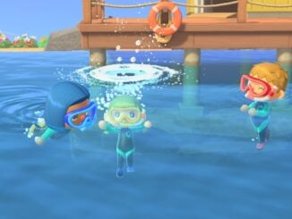 Animal Crossing: New Horizons – Swimming Update July 3rd