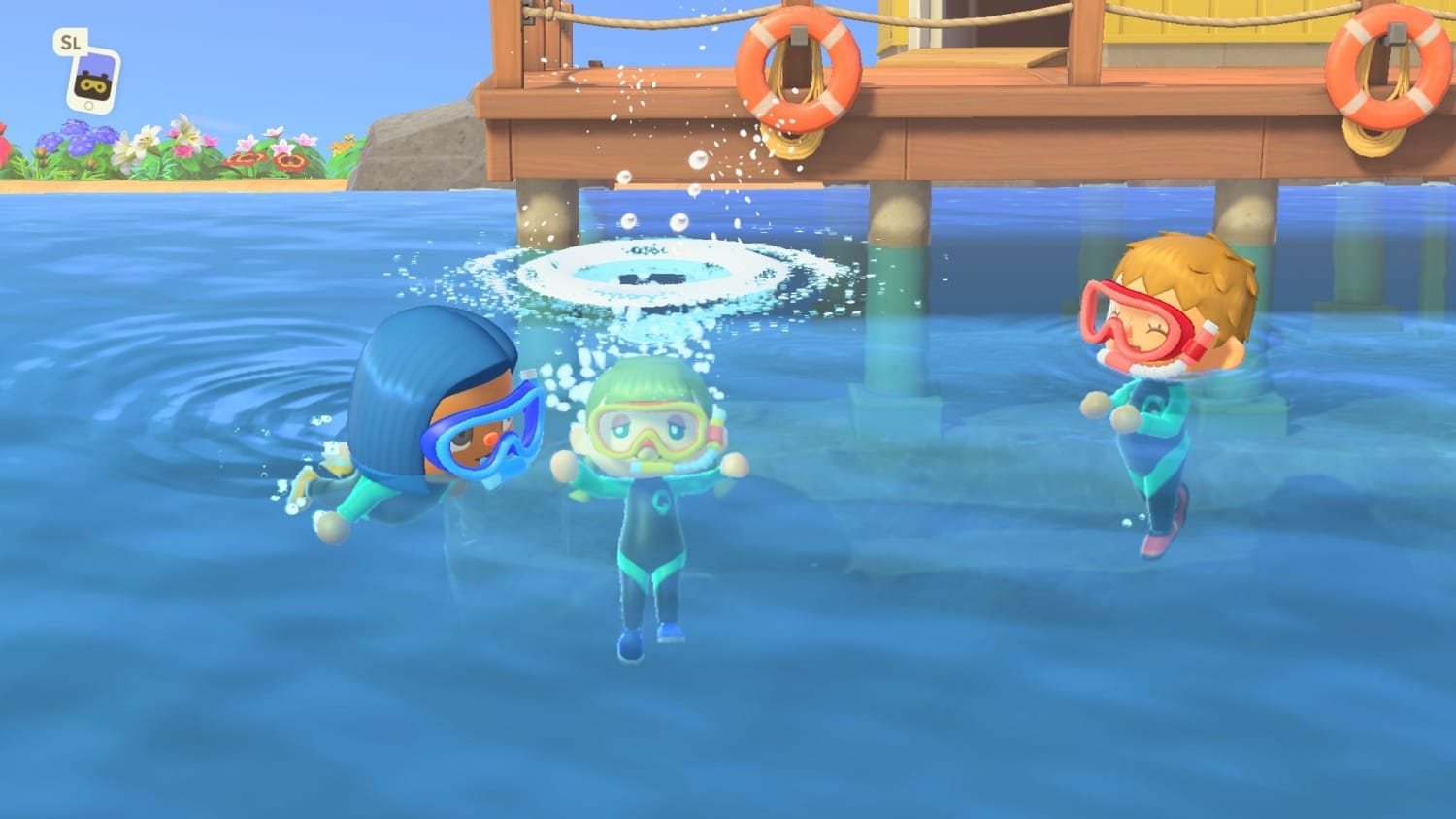 Animal Crossing: New Horizons – Zwem update 3 Juli