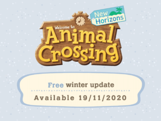 Animal Crossing: New Horizons winter update 2020 soon