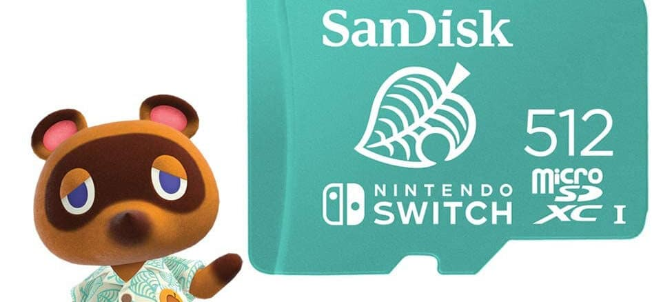 Animal Crossing SD Card beschikbaar via Amazon